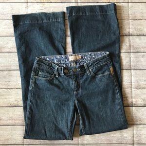 """Paige Trouser Jeans Dark Wash Size 28"""" Waist"""
